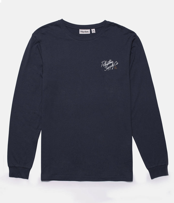 CUSTOM LS T-SHIRT VINTAGE NAVY