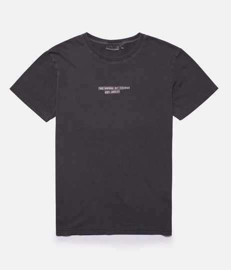 MAKER T-SHIRT WASHED OUT CHARCOAL