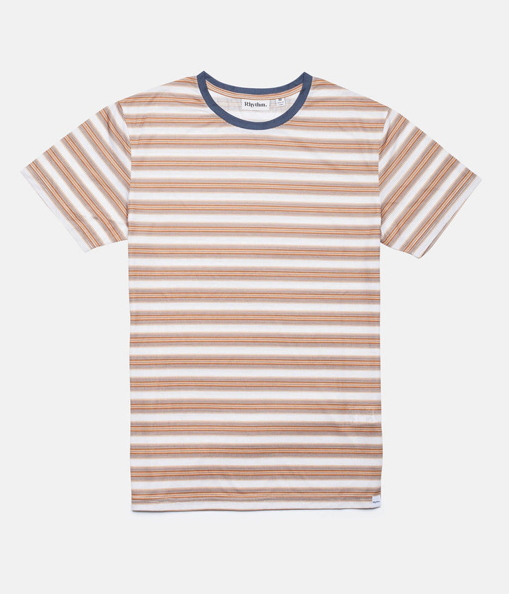 Rhythm Vintage Stripe T-Shirt Vintage Honey Front
