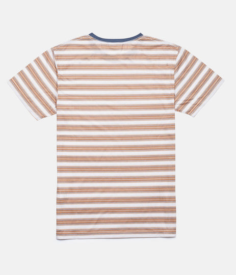 Rhythm Vintage Stripe T-Shirt Vintage Honey Back