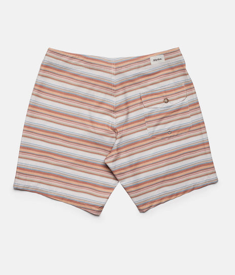 Rhythm Tuscan Stripe Trunk Terracotta Back