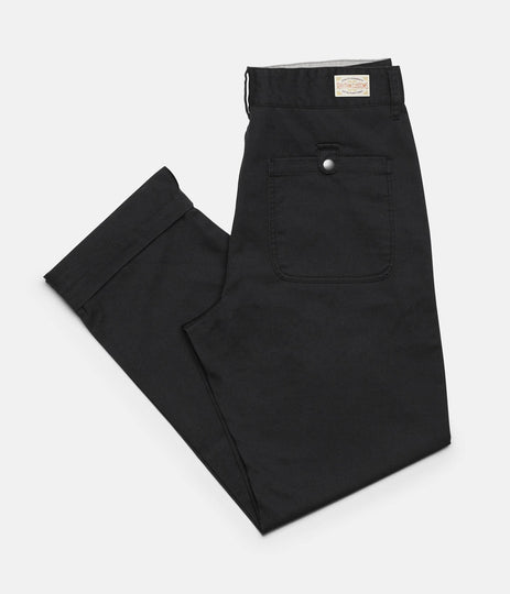 RHYTHM FATIGUE PANT BLACK FRONT