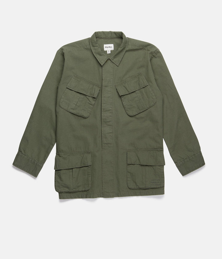 WORN PATH JACKET OLIVE