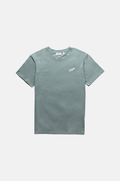Essential Script T-Shirt Mineral Blue