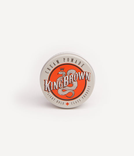 KING BROWN POMADE - LIGHT CREME