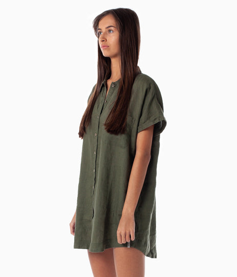AMALFI DRESS KHAKI