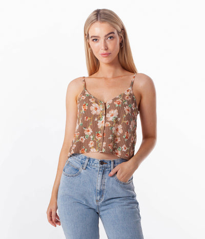 LOLA CAMI TOP LATTE