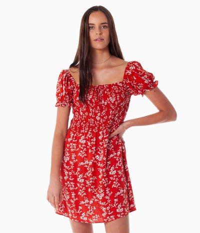 FIRST EDITION MARLEY DRESS CHERRY