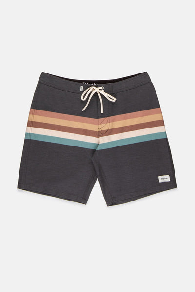 Retro Stripe Trunk Black