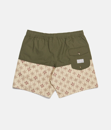 SOMOA BEACH SHORT OLIVE