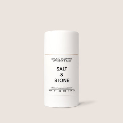SALT & STONE ALL NATURAL DEODURANT LAVENDER + SAGE + ROSEMARY