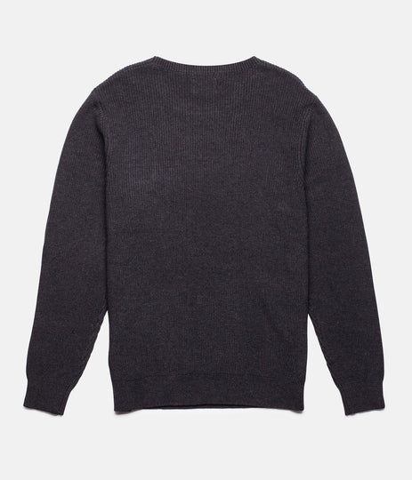 RHYTHM BUNKER KNIT BLACK BACK