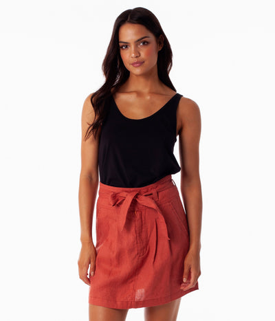 POSITANO SKIRT BERRY
