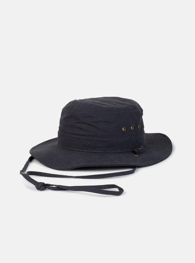 Utility Bucket Hat Vintage Black