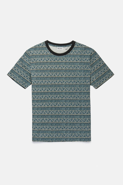 Boys Tribe Stripe T-Shirt Navy