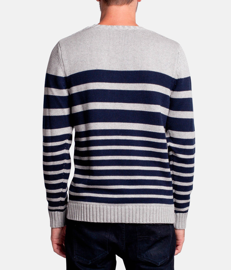 OLIVERS STRIPE KNIT WARM MARLE