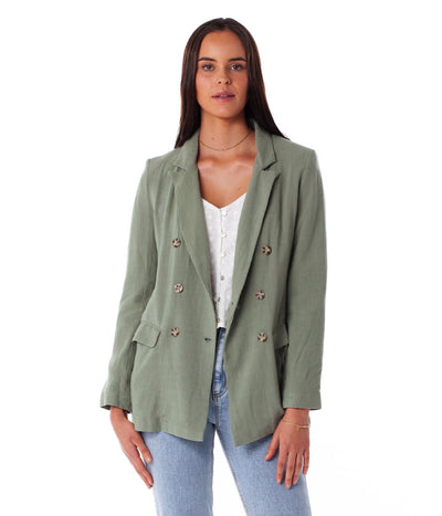 FIRST EDITION MYKONOS JACKET SAGE