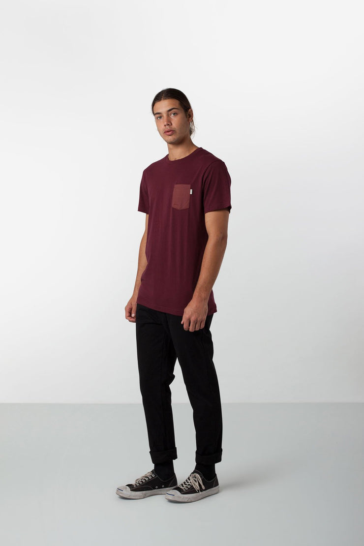 BASIC T-SHIRT WINE