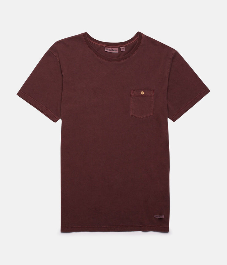 EVERYDAY WASH T-SHIRT OCHRE WASH