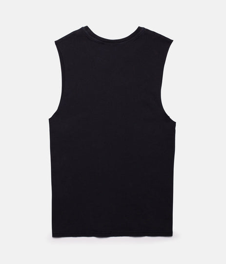 WAVES TANK BLACK