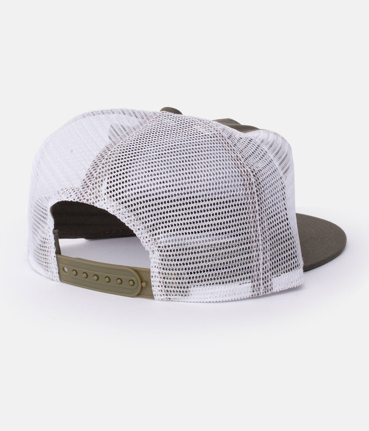PATCH TRUCKER OLIVE