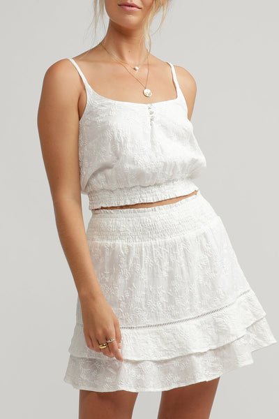 PENNY TOP WHITE