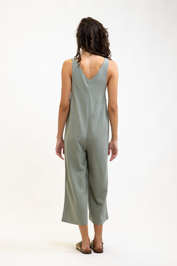 Honolulu Jumpsuit Sage