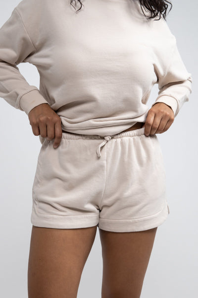 Laguna Fleece Short Sand