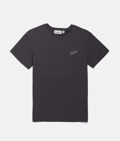BOYS SCRIPT T-SHIRT CHARCOAL