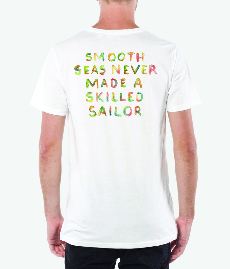SMOOTH SEAS T-SHIRT WHITE
