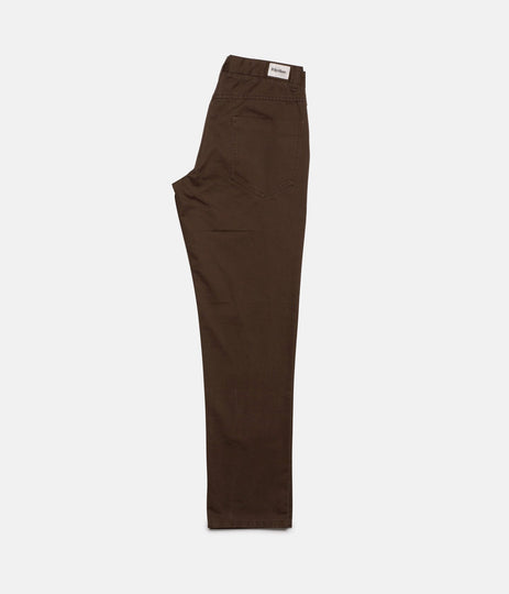 Rhythm Jean Pant Chocolate Leg