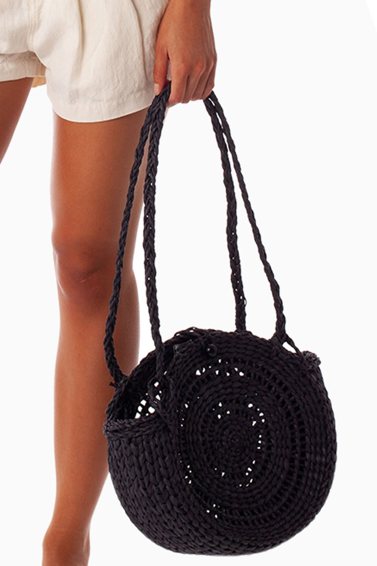 TIKI BEACH BAG CHARCOAL