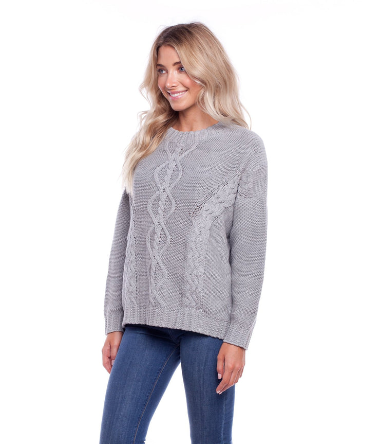 ZAMBIA KNIT GREY