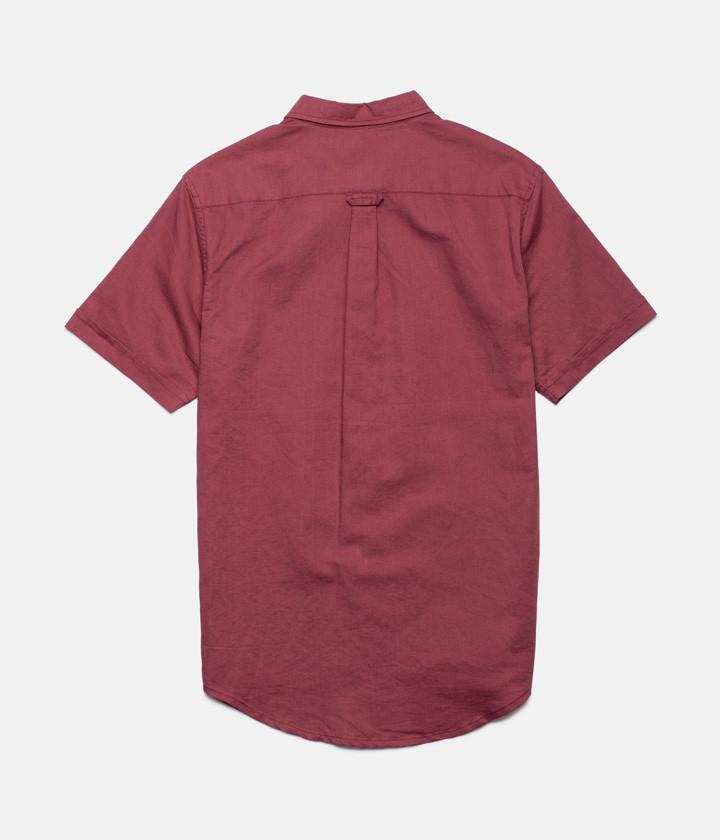 APARTMENT SS SHIRT DUSTED RED