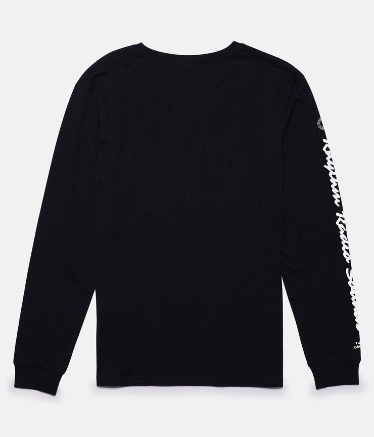 RADIO LS T-SHIRT BLACK