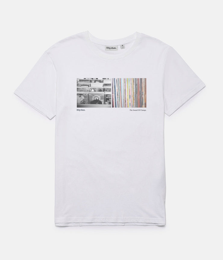 RECORD STORE T-SHIRT WHITE