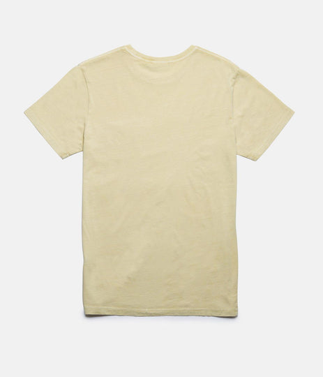 RETRO RADIO T-SHIRT SUNBLEACHED YELLOW