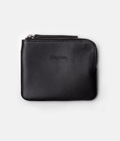 EVERYDAY ZIP WALLET BLACK