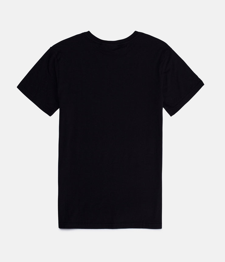 WARPED PALM T-SHIRT BLACK