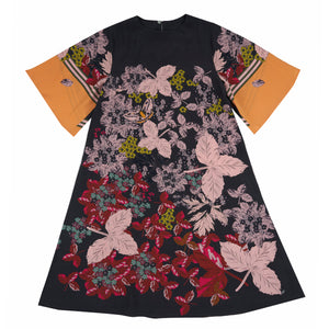 Leaf swing dress
