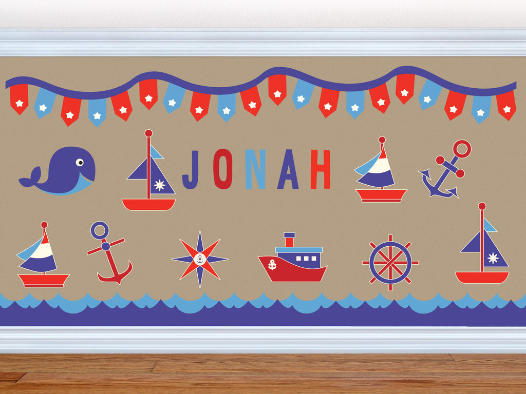 Maritime Memories! Nautical Ocean Wall Decals
