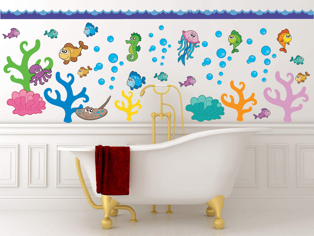 Just Keep Swimming! Ocean Nursery Wall Decals