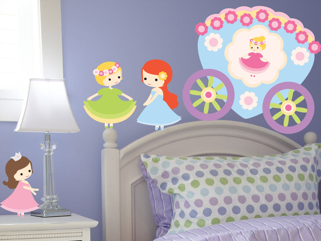 Fairytale Princess! Baby Girls Wall Decals