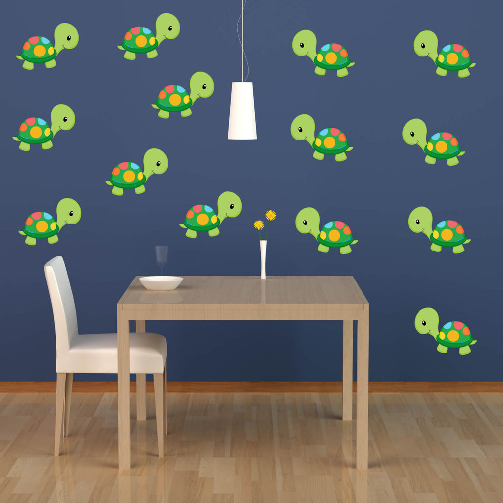 Snappy Turtles! Nursery Animal Wall Decals