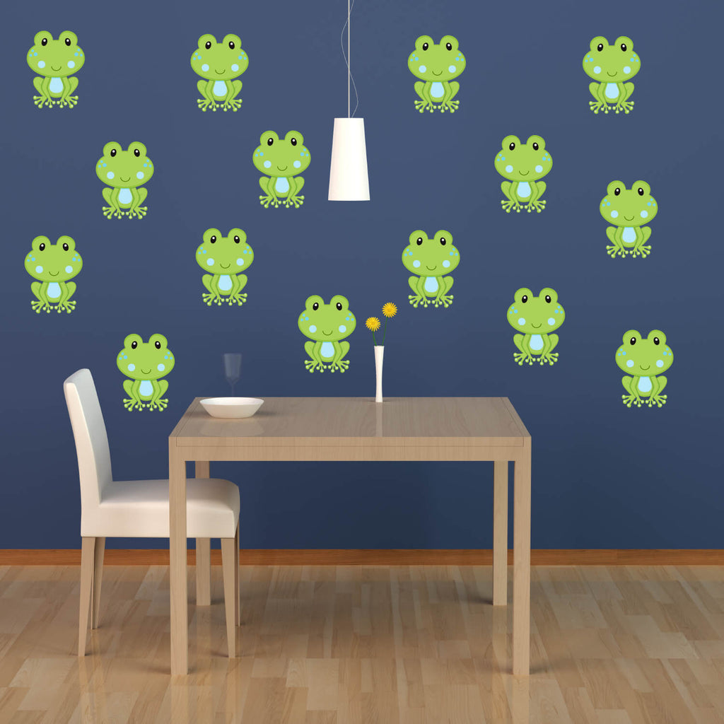 Flying Frogs! Nursery Animal Wall Decals
