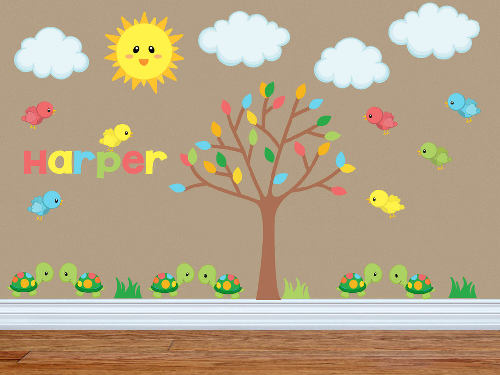 Good Morning Sunshine! Jungle Nursery Wall Decals