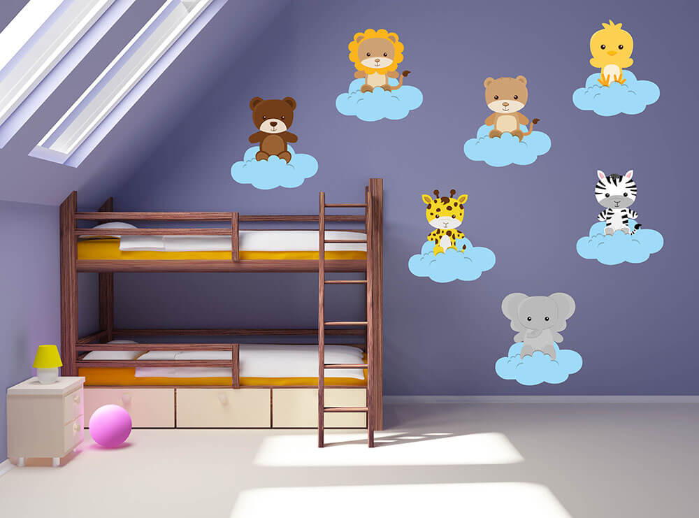 Jungle Babies! Jungle Nursery Wall Decals