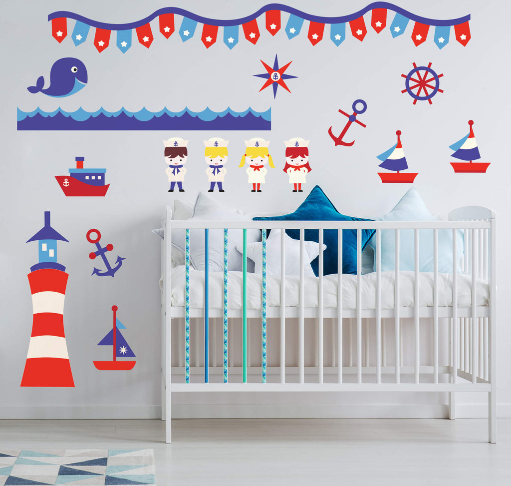 Nautical Adventure! Ocean Wall Decals