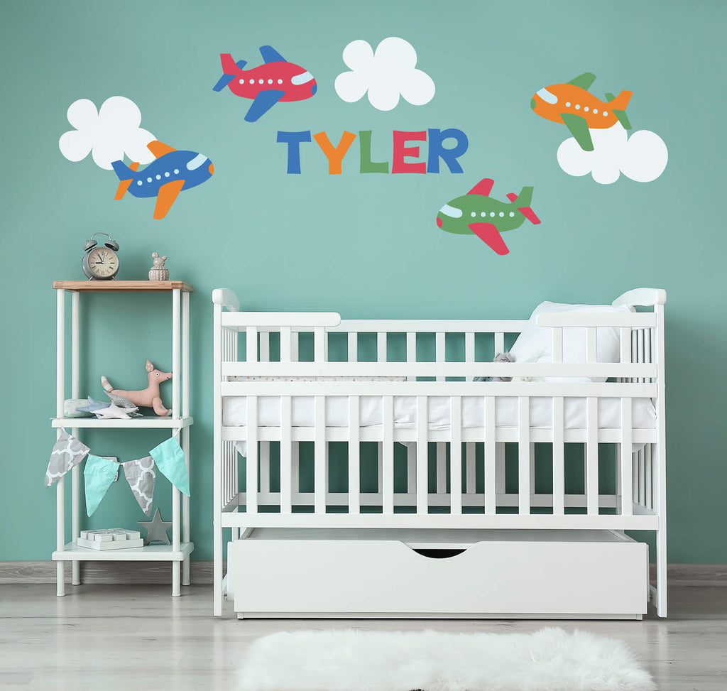 Air Adventures! Transportation Nursery Wall Decals