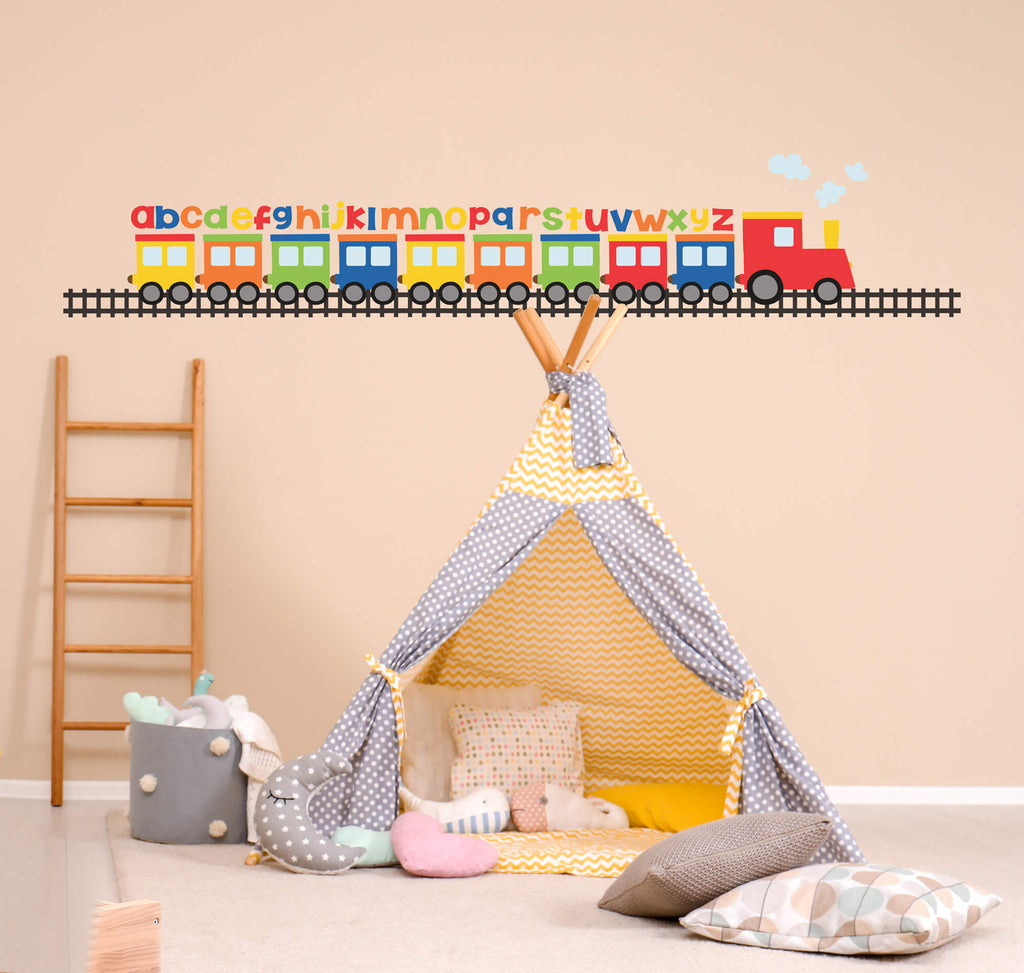Learning Express! Train Wall Decals